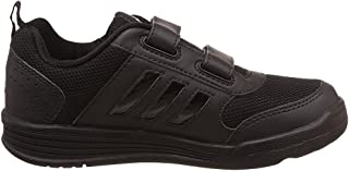 Adidas Black School Shoes for Boys - Kids Shoe Range (Shoe Size -7C / India)