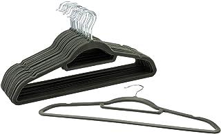 20 Clips Negros Para Perchas De Terciopelo Flocado,perchas De Playa Duraderas Para El Hogar A Prueba De Viento Y Respetuosas Con El Medio Ambiente gris