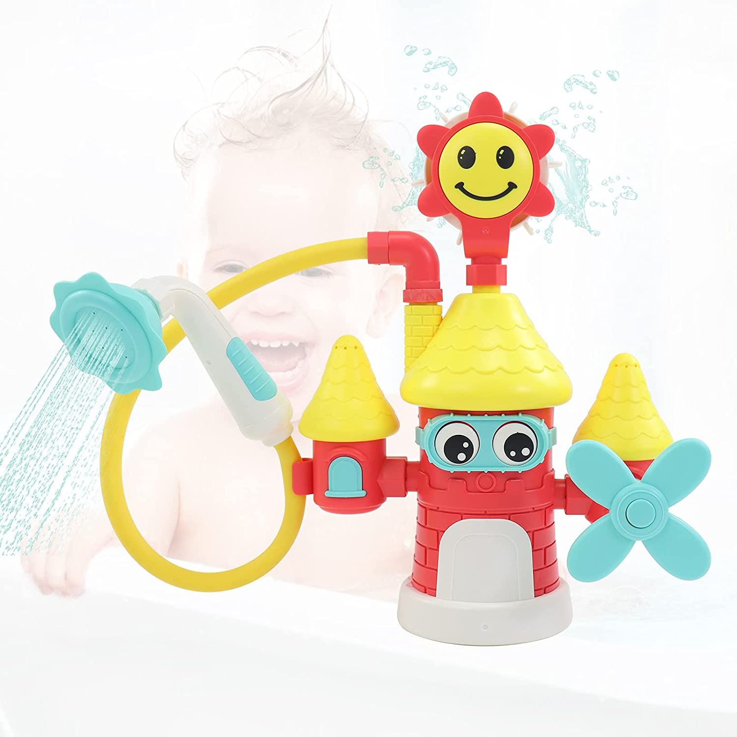 Bathtub Toys Baby Bath for 3-4 Toddlers Years Max 64% OFF Electric Kids Fashion