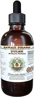 Dulse Alcohol-Free Liquid Extract, Dulse (Palmaria Palmata) Dried Leaf Glycerite Hawaii Pharm Natural Herbal Supplement 4 oz