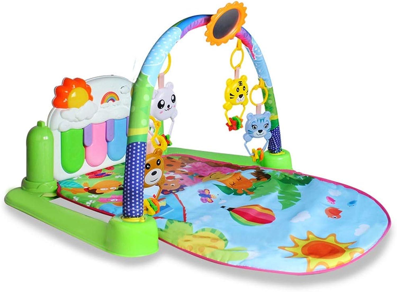 Byx Kinder Fitness Rack Pedal Piano Baby Spielzeug Baby Früherziehung Multifunktionale Musik Neugeborenen Kinderspielzeug Jungen Und Mdchen Spielzeug Geschenke Baby Piano Gym