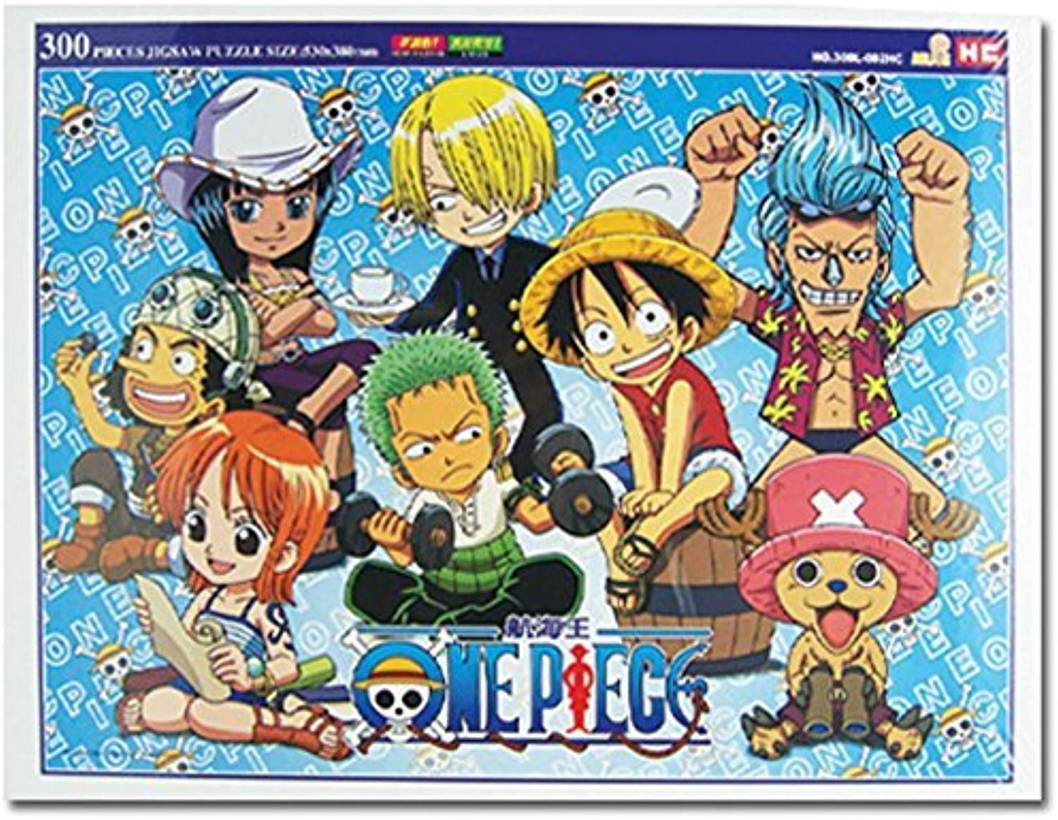 One Piece   bi paille Hat Pirates Group Image 300 Piece Puzzle by One Piece