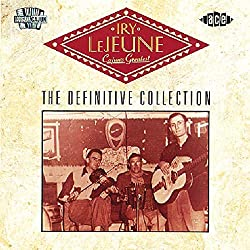 Cajun's Greatest album Iry LeJeune
