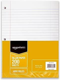 Best mini binder blank filler paper Reviews