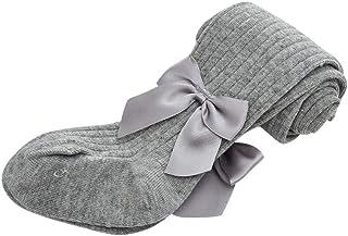 ASHOP-Bebe, ASHOP Calcetines infantil Calcetines de algodón para otoño e invierno Calcetines con lazo para bebé