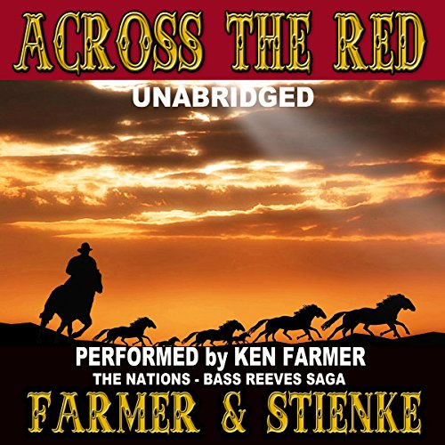Across the Red audiobook cover art