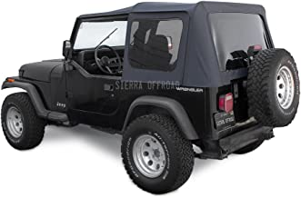 how to install jeep soft top frame