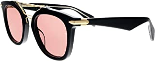 Sunglasses Rag & Bone Rnb 1005/S 0YYC Blgd Bronze/4S burgundy lens