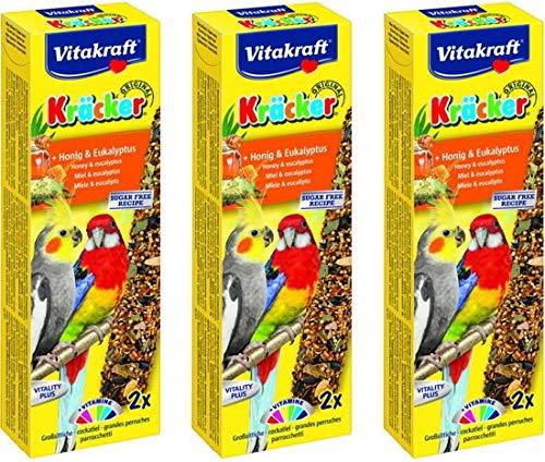 Lekkere Snack voor Valkparkiet Honing & Eucalyptus Per 3 stuks
