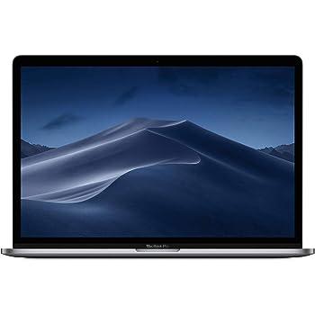 "Apple 15.4"" MacBook Pro with Touch Bar, Intel Core i7 Six-Core, 16GB RAM, 256GB SSD, AMD Radeon Pro 555X - Mid 2019, Space Gray (Renewed)"