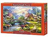 Castorland Springtime Glory 1000 pcs Puzzle - Rompecabezas (Puzzle Rompecabezas, Paisaje, Niños y Adultos, Niño/niña, 9 año(s), Interior)
