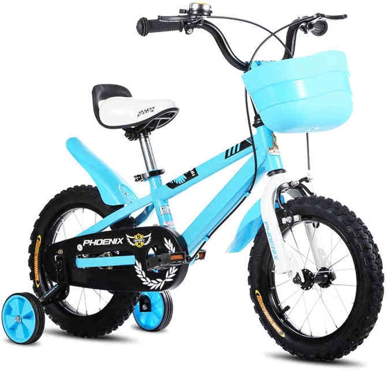 XQ TL-117 Blau Kinderfahrrder 3-13 Jahre alt Junge Mdchen High-Carbon-Stahl Kinderfahrrad