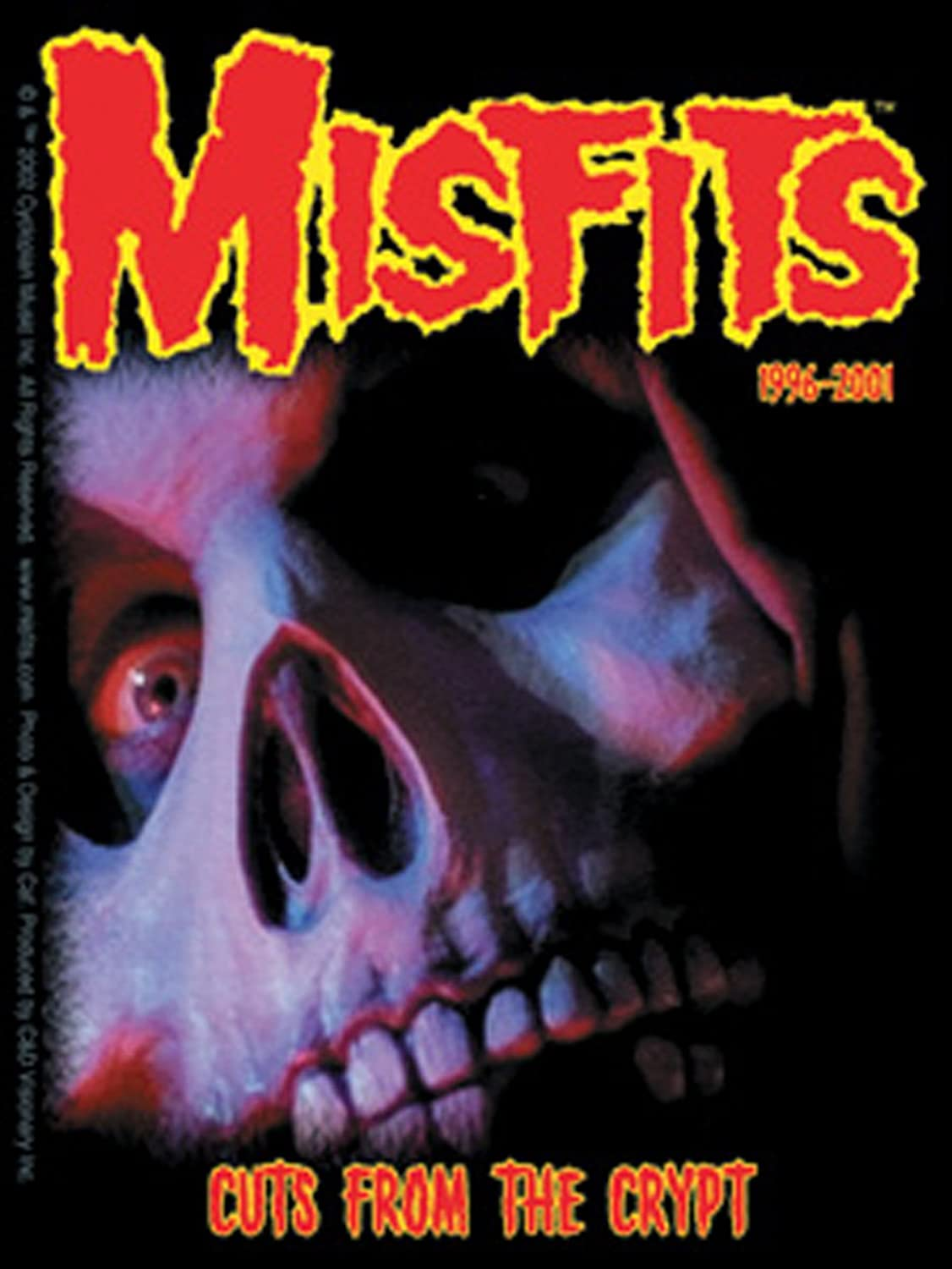 Licences Products Misfits Crypt Sticker