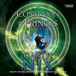 A Confusion of Princes                   By:                                                                                                                                 Garth Nix                               Narrated by:                                                                                                                                 Michael Goldstrom                      Length: 9 hrs and 44 mins     203 ratings     Overall 4.2