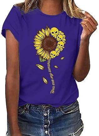 T-Shirt Estiva Moda Semplice Selvaggia Harajuku Stampa Girocollo A Maniche Corte Girocollo A Maniche Corte Donna di Grandi Dimensioni Multicolore Opzionale - Confronta prezzi