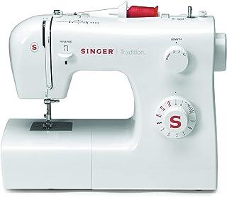 comprar comparacion SINGER Tradition 2250 - Máquina de coser (Color blanco, Costura, Paso 4, Variable, Giratorio, Variable)