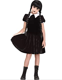 Fun World Gothic Girl Child Costume, Multicolor, X-Large