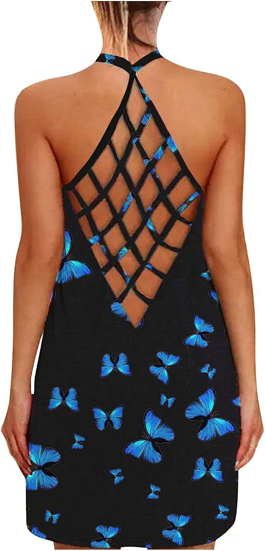 IKFIVQD Women's Summer Maxi Dress Short Sleeve Casual Long Dress Maxi Dresses Beach Dresses