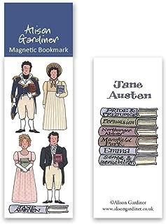 Jane Austen Books Book Markers Metal Bookmark Pride & Prejudice Sense & Sensibility Mansfield Park Etc Characters Teacher Gifts for Women