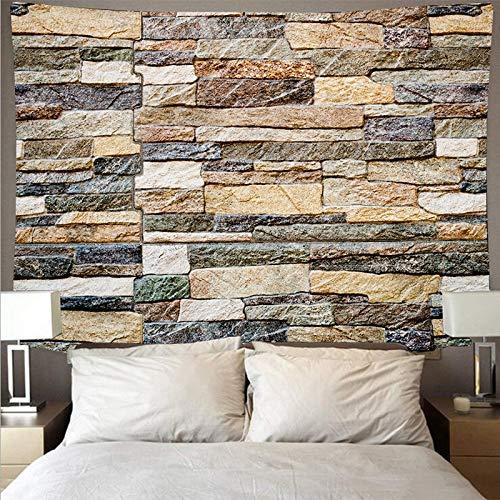 Madera textura de piedra tapiz estilo registro piedra fondo tela tela colgante decoración del hogar colgante de pared a7 180x200 cm