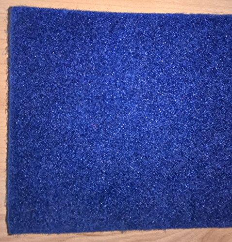 NOVINGRECONS Moqueta Aterciopelada para Barcos. Corte de 10m2-2x5m (AnchoxLargo). Color: Azul