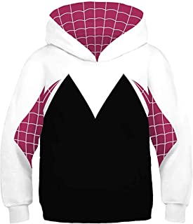 Kids Into The Spider-Verse Gwen Stacy Hoodie