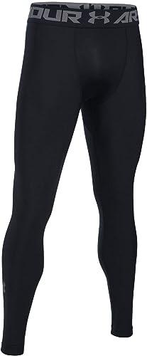 Under Armour HeatGear 2.0, Legging Homme, Black / Graphite, XL