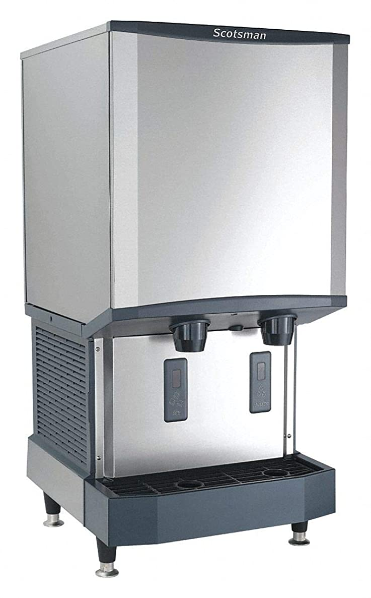 Countertop Ice Dispenser, Ice Maker, Water Dispenser, Ice Production per Day: 525 lb, 26