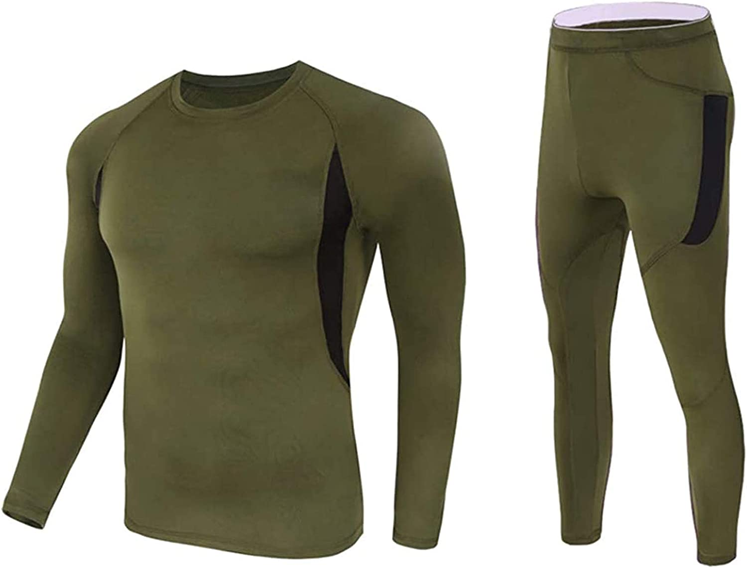Men's Thermal Underwear Suit Breathable Underwear Fitness Skiing Running Hiking Fun Suit, Sexy-Lingerie Set