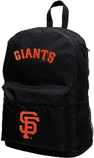 MLB San Francisco Giants Sprint Backpack, 18-Inch, Black/Black