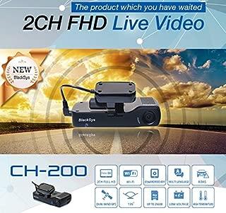 Blacksys Car Black Box 2CH CH-200 Full HD WIFI +HD Rear -16GB + GPS + DC Cable