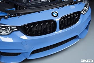 IND Gloss Black Painted Full Grille Set For BMW F80 M3