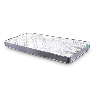 Dreaming Kamahaus Colchón Damas | Reversible | Fibras Hipoalerénicas y Soft Foam | Transpirable | ±12 cm altura | 105x180 cm