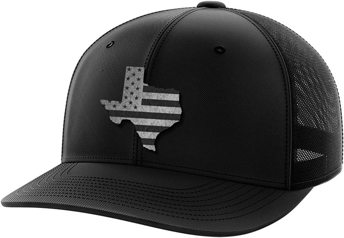 Texas United Black Patch Hat