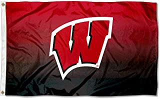 College Flags and Banners Co. Wisconsin Badgers Two Tone Gradient Flag