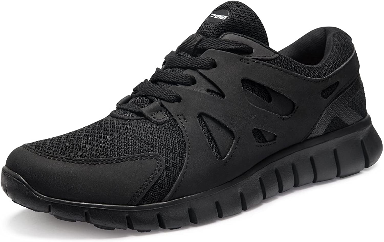 TSLA TFX700BKO_Men 8.5 D(M) Men's Lightweight Sports X Series Running shoes X700 (True to Size)