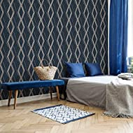 Per Roll: 52 cm (Width) x 10 Metres (Length) No wallpaper steamer or scraping required. Paste the wall wallpaper can simply be peeled off in full strips. Same batch guarantee when purchasing multiple rolls. Care Instructions -Wipe with soft damp clot...