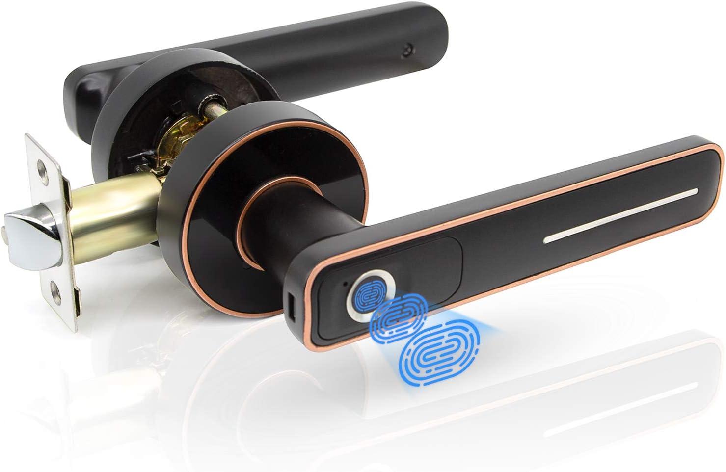 Geek Smart Fingerprint Door High order L Entry 67% OFF of fixed price Keyless Lock