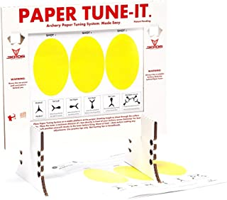 .30-06 Outdoors Tune-IT D.I.Y. Paper Tuning System, White/Red
