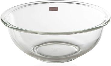 LocknLock 425139 Glass Mixing Bowl, LLG014, Clear, 2.5 Liter, Glass