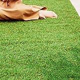 アイリスオーヤマ 人工芝 国産 1×5 ロールタイプ 芝丈3cm Uピン付属 リアル人工芝 IP-3015 スタンダード