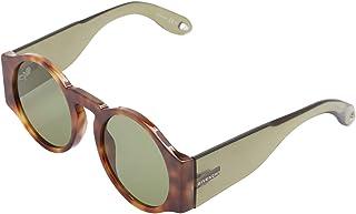 جيمي شو نظارات شمسية للنساء, بني