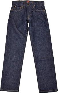 "[RESOLUTE【リゾルト】]テーパードデニム 細身 712 94""505"" type cotton ONE WASH ワンウォッシュインディゴ 505モデル ウエストサイズ 36"