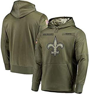 Dunbrooke Apparel New Orleans Saints Salute to Service Hoodie Camo for Men Women Youth