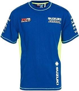 Suzukí Estar Oficial T Shirt Paddock Pitline Herren Motorrad MotoGP