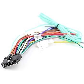 Amazon.com: Xtenzi 20 Pin Car Radio Wire Harness Compatible with Dual CD  DVD Navigation In-Dash - XT91096: AutomotiveAmazon.com