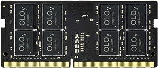 ذاكرة وصول عشوائي 16 جيجابايت (1x16 جيجابايت) 2666 ميجاهرتز CL19 1.2 فولت 260 دبوسًا للكمبيوتر المحمول من OLOy (MD4S162619...
