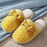 Zapatillas Casa Hombre Mujer Invierno Zapatillas Mujer Zapatillas De Felpa De Espuma para Mujer Zapatillas De Interior para El Hogar Zapatillas Suaves Y Cálidas De Invierno Zapatos Bonitos para N