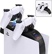 PS5 Controller Charger Station,PS5 Charging Dock...