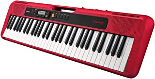 Casio CTS200RD Casiotone 61 Keys Portable Keyboard Red
